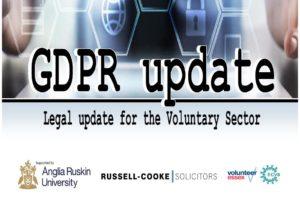 GDPR legal update event